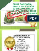 sanidad haccp
