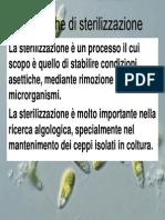 Tecniche Di Sterilizzazione