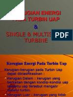 III. Kerugian Energi Pada Turbin Uap
