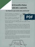 """Intervención """"El Puente Que Unía Los Castillos""""."""