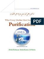 What Every Muslim Must Know About Purification