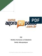 PDF Aep Apostila DireitosHumanoseCidadania Completo EmillyAlbuquerque
