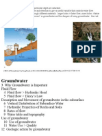 11 Groundwater