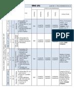 4. ENG 151 EAP Pacing Schedule Q4