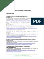 Boletín de Noticias KLR 10DIC2015