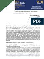 Análise de questões da Prova Brasil