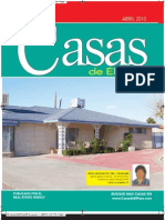 Casas de El Paso - Abril 2010