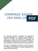 7.4 Compras ISO9001