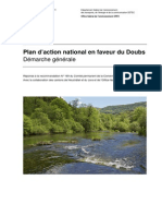 Plan d'action national en faveur du Doubs.