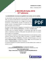 Michelin Italy 2016
