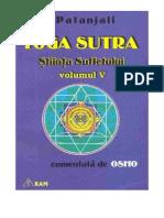 Yoga Sutra - Stiinta Sufletului Vol 5 - Patanjali