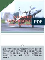Aviones Supersonicos