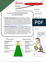 April 10 TOSA Newsletter