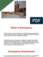 3. Emergency Department