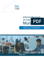 Informe Capital Humano Municipal Chile