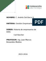 Carl Karcher Por Andres Del Barco