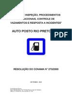 Plano de Insp, Proc. Oper, Auto Posto Centro Do Toinho