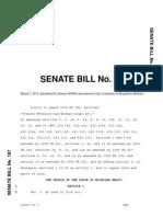 Charity Poker Bill