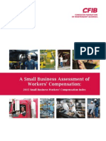 Small Business Workers' Compensation Index