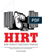 HIRT High Intensity Resistance Training