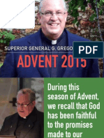 Superior General's Advent Letter 2015