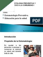 Clase01_Estomatologia Preventiva