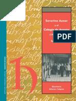 ALARES LOPEZ-Severino Aznar y El Colegio de Aragon