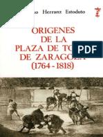 HERRANZ-Origenes de La Plaza de Toros de Zaragoza