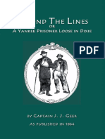 Beyond the Lines a Yankee Prisoner Loose in Dixie ISBN 1582181403