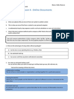 u1l4 online documents worksheet