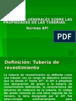 Conceptos Generales Sobre Las Propiedades de Las Tuberías.