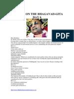 Bhagavad-gita Day 6
