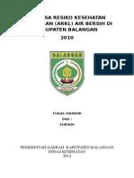 ARKL Air Bersih Di Kabupaten Balangan