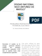 Problemas Propuestos de Potencial Electrico