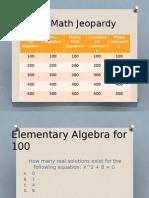 edu 214 act math jeopardy