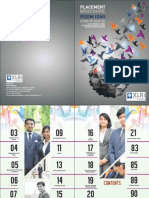 XLRI PGDM-GM Placement Brochure 2015-16