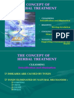 The Concept of Herbal Treatment