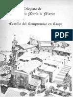 GUITART-La Colegiata y El Castillo Del Compromiso de Caspe