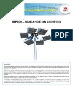 Sip009 - Guidance on Lighting - Issue 1