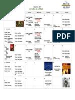 2015 12 December Calendar
