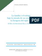 61.LOZANO-La Familia y El Trabajo...Notario Zaragoza Siglo XV