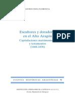 73.COSTA-Escultores y Doradores en El Alto Aragon 1668-1838