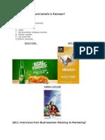 Marketing Assigmnet1