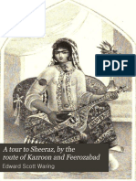 A Tour to Sheeraz by the Route of Kazroo