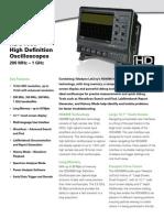 Hdo4000 Oscilloscope Datasheet