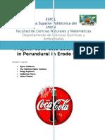 Coca Cola Company was expulsed of Erode District