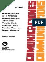 Analisis Estructural Del Relato a J Greimas Claude Bremond Jules Gritti Violette Morin Christian Metz Tzvetan Todorov Gerard Genette