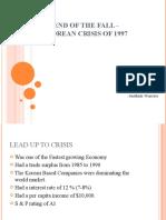East Asian Crisis -  South Korea
