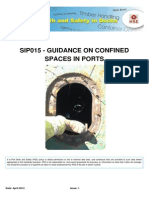 Sip015 Confined Spaces in Ports - Issue 1 - April 2014