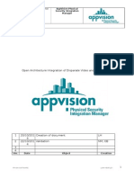 AppVision PSIM Open Architecture Video and Security Integration